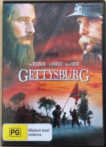 Gettysburg Australian DVD Cover
