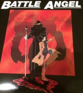 Battle Angel Laser Disc Cover