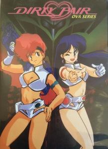 Nozomi Cover Art - Dirty Pair OAV Series