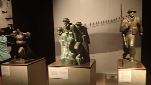 The Greek Campaign Bronze Statues