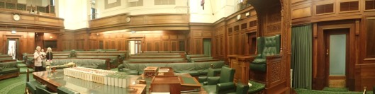House of Representatives from by the Speaker's Chair