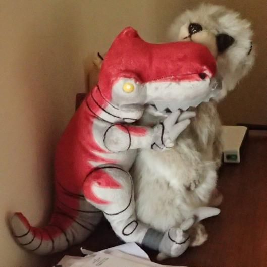 Bad Raptor! No Biscuit!