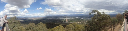 The Panoramic View From Mount Ainslie