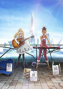 Carole and Tuesday Key Visual