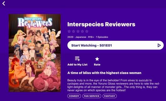 Interspecies Reviewers (AnimeLab)